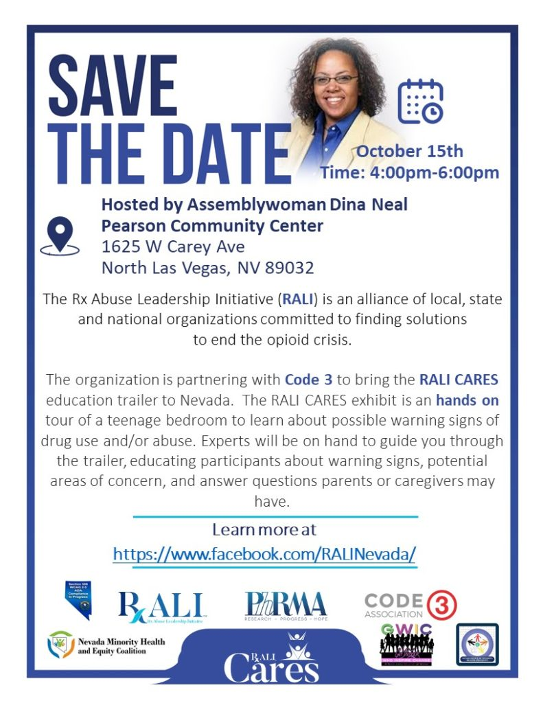 RALI CARES - Neal Save the Date 10.15